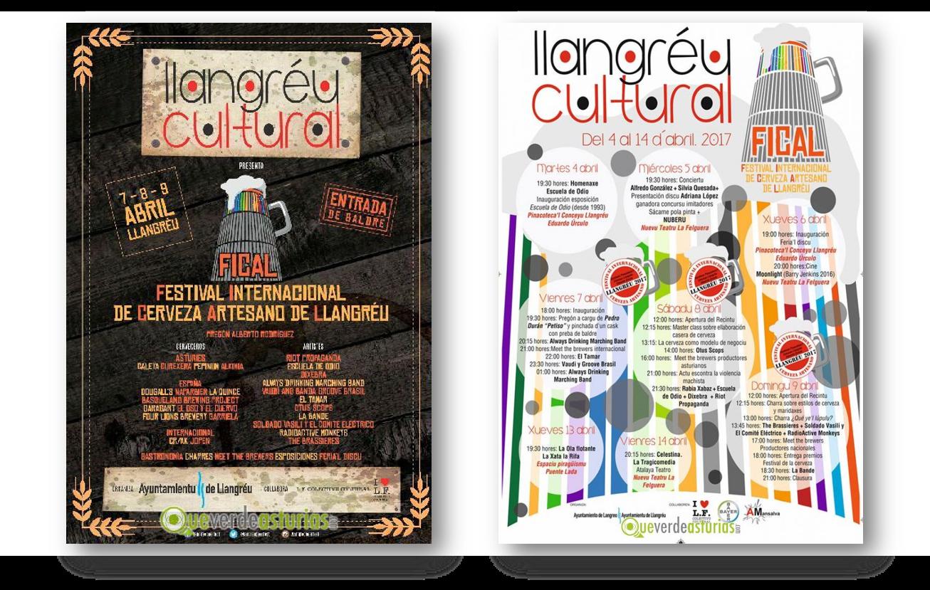 Festival Internacional de Cerveza Artesano de Llangréu 2017