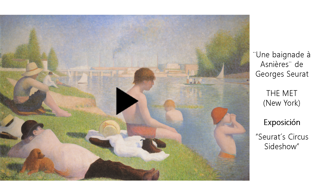 Vídeo: Composition of Seurat's ´Bathers at Asnieres´