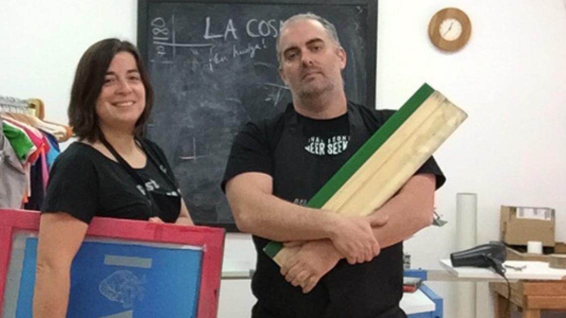 Mario y Pilar, ideólogos de La Cosmonauta